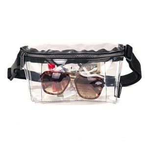 Handbags - Crystal Clear Ultra-Slim Fanny Pack